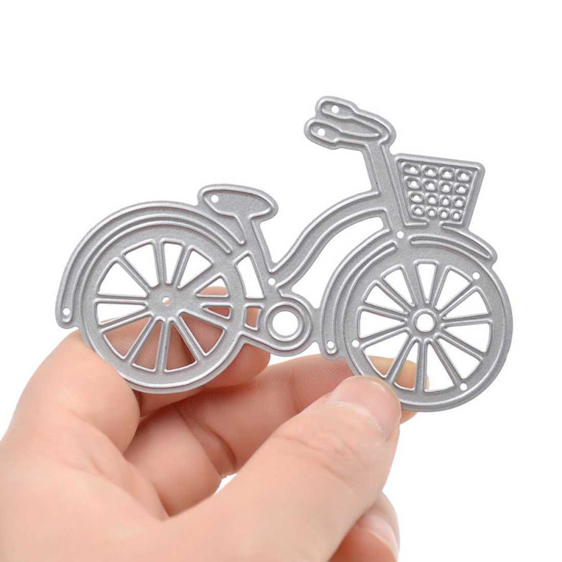 New Arrival Bicycle cutting dies Metal Cutting Dies Stencils for DIY Scrapbooking dies Decorative Craft Photo Album Embossing