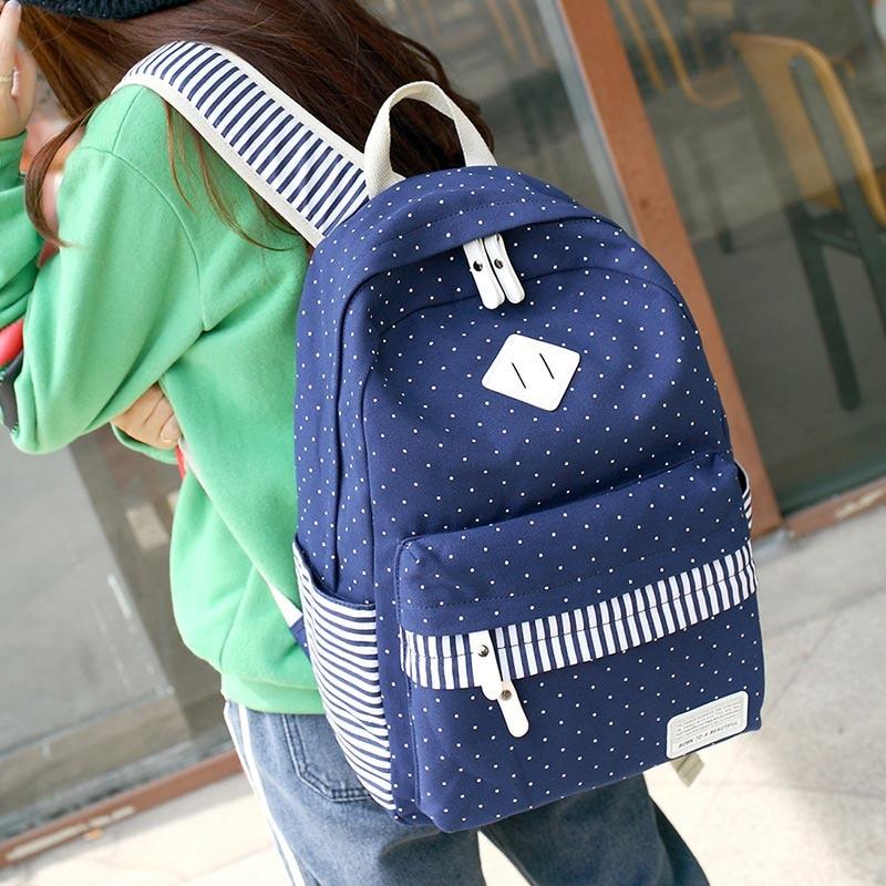 Women Backpack Youth Canvas Backpacks for Teen Girls Teenagers Girl School Bags Mochila Feminina Female Bagpack Sac A Dos Femme