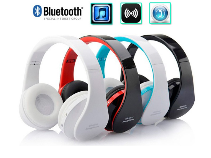 K8252 Wireless Bluetooth Earphone Best Sound Headset Stereo Headphones Handsfree with Micophone for iPhone Samsung Htc Phone a2dp universal wireless bluetooth headphons stereo headset handsfree with mic earphone for samsung lg iphone htc moto zte tablet