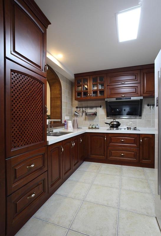 Imagenes de muebles para cocina de madera tallada for Muebles modulares de cocina baratos