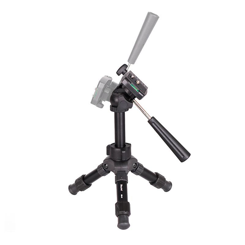 Image 4 - XILETU XB 2 Panoramic Portable Mini Tabletop Tripod For Digital Camera With Three dimensional Tripod Head-in Tripods from Consumer Electronics