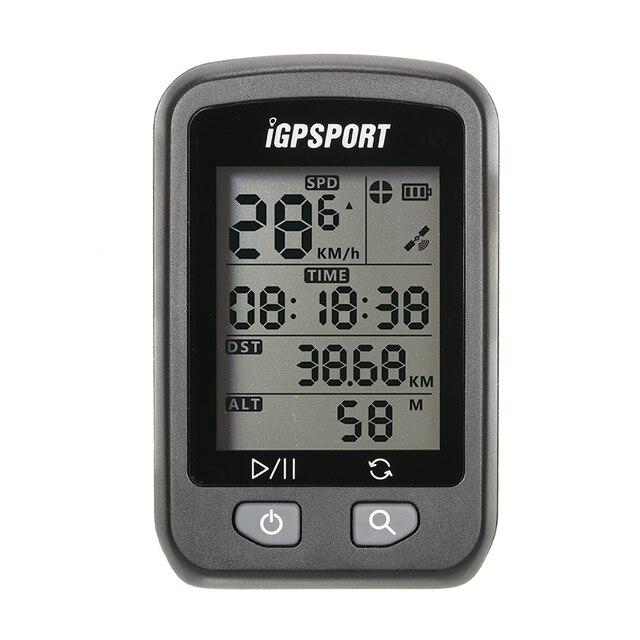 Я gps порт gps компьютер Беспроводной IPX6 Водонепроницаемый Bicyle компьютера Авто Подсветка Экран велосипед Велоспорт одометр цикла с креплением