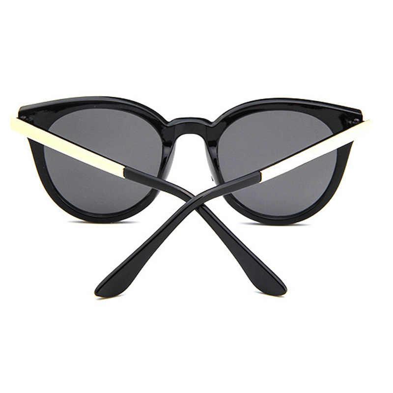 3195970f7d ... 2019 Vintage ojo de gato gafas de sol de las mujeres de alta calidad de  marca