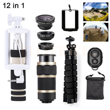 Promo offer 8X Zoom Lens Telephoto Lenses Telescope+Tripod Holder+Fisheye Wide Angle Macro Lentes Microscope For Xiaomi iPhone 7 6 5 s