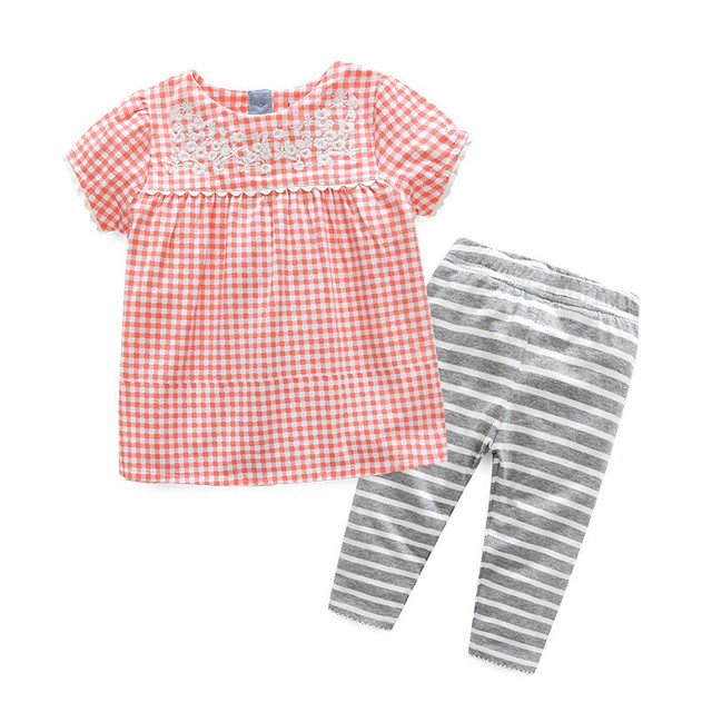 Zomer Kinderkleding.Grote Koe Meisjes Kleding Zomer Kinderkleding Sets Leuke Korte