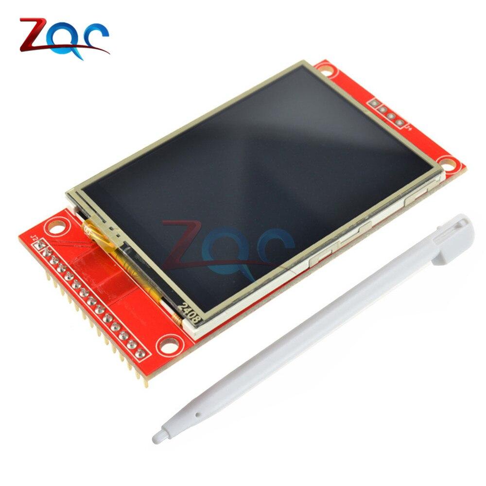 240*320 240x320 2.4 SPI TFT LCD Tactile Panneau Port Série Module Avec PBC ILI9341 3.3 V SPI Série Blanc 2.4 Pouce LED Affichage