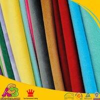 Minky tissu vendu par 5 mètres pour diy couture en peluche jouets matériel polyester tricot chaîne brossé tricot plaine pv velours