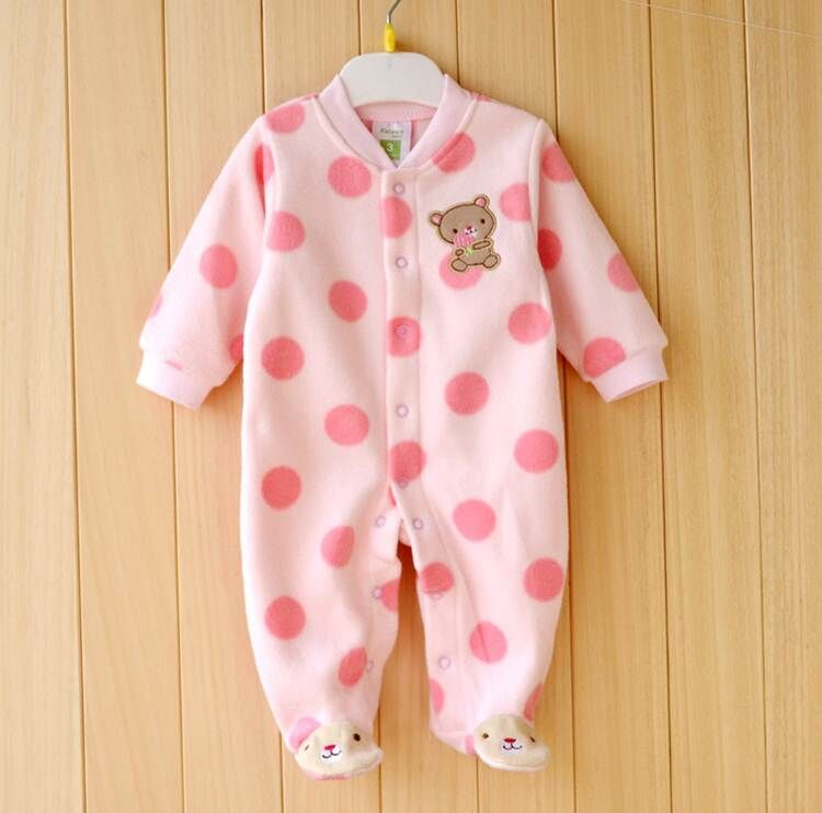 0-12M-Autumn-Fleece-Baby-Rompers-Cute-Pink-Baby-Girl-Boy-Clothing-Infant-Baby-Girl-Clothes-Jumpsuits-Footed-Coverall-V20-3