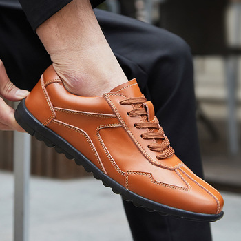 Men Casual Shoes High Quality Genuine Leather