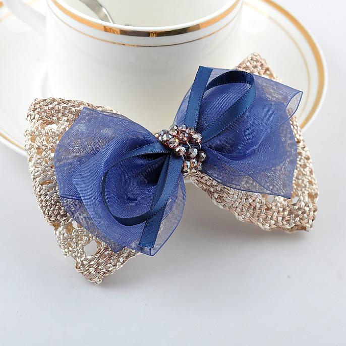 Original flor cabeza tocado de adornos para el pelo pequeño de corea de corea horquillas del