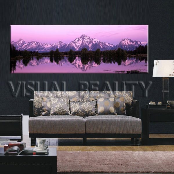 free shipping well designed canvas prints cheap china panoramic