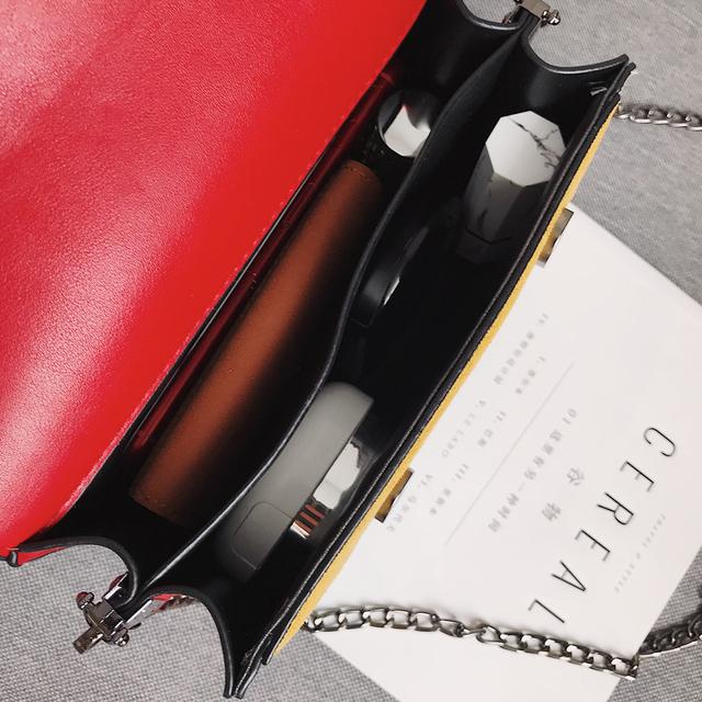 Bolsa de mensajero de cuero para mujer