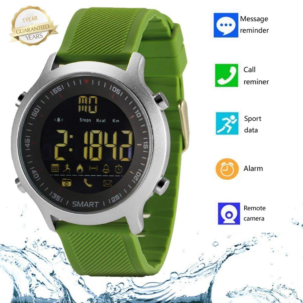 Smart Watch Waterproof Smartwatch Sports Watches Men Women Boys Kids Android IOS Pedometer Fitness Tracker SMS