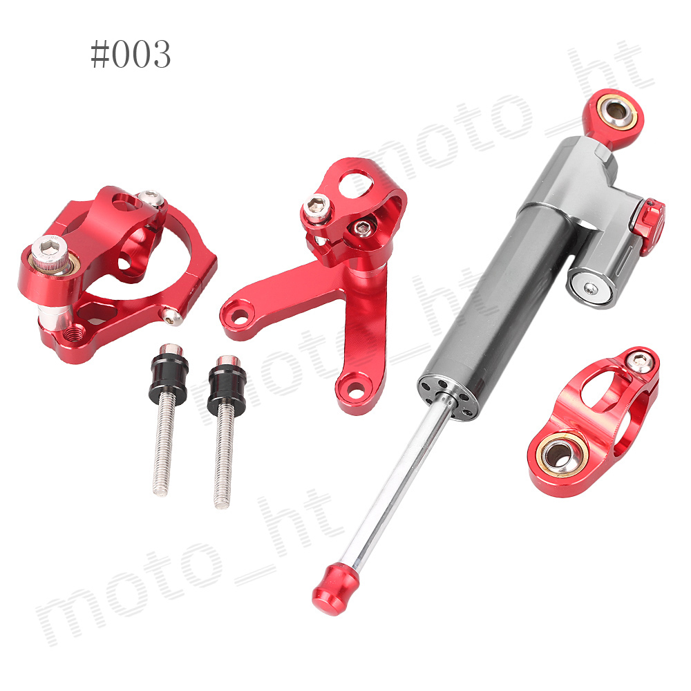 ФОТО CNC Steering Damper Stabilizer & Bracket Mounting Kit for DUCATI 848 2008 2009 2010 Linear Reversed
