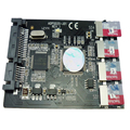 "4 porta micro sd ssd msata para 2.5 ""laptop disco rígido sata hdd adapter converter cartão micro sd adp02201"