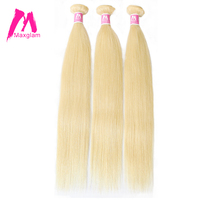 Maxglam Body Wave Peruvian Remy Hair Natural Color Human Hair Weave Bundles Free Shipping