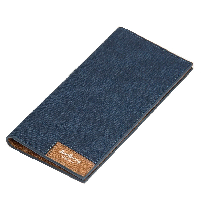 2018 Casual Canvas Wallet Men Slim Vintage Male Coin Purse Denim Clutch Men Wallets Credit Card Holders Carteira Masculina W097