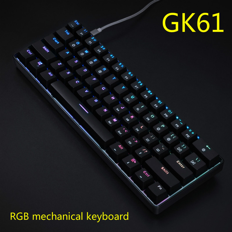 GK60 RGB Mechanical Keyboard Associated GH60 GK64 Hot Swap