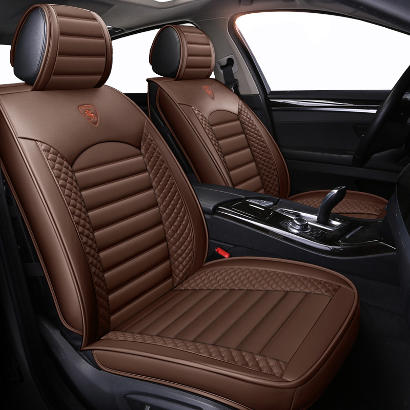 New Leather Cartoon Universal car seat covers for Audi A3 A4 B6 B8 B7 B5 A6