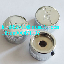 free shipping new electric guitar  tone and  volume metal adjustable electronic Control Knobs cap   DM-8076