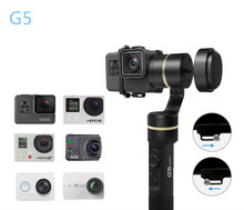 NEW Feiyu G5 3-Axis Handheld Gimbal V2 for GoPro HERO5 5 4 Xiaomi yi 4k SJ AEE Action Cams Splashproof Bluetooth-enabled Control