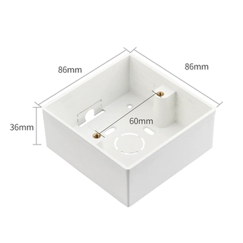 86 Type White Tempered glass Switch 1 2 3 4 gang 1 2 way Lizard Point Switch Comuter TV Telephone Socket Household Wall Switch 7