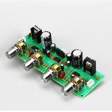 NE4558 HIFI OPAMP Stereo Preamp Ön amplifikatör Ses Tonu kontrol panosu