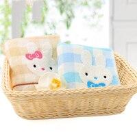 Dos desenhos animados macio guardanapo towel animal pequeno de algodão para o bebê de banho toalha de banho roupão de banho towel bebê musselina 4 carregado 50A024