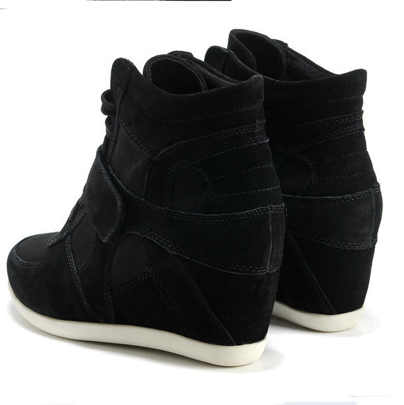 Aliexpress.com : Buy New Arrival Lady Shoes Female Wedge High Top ...