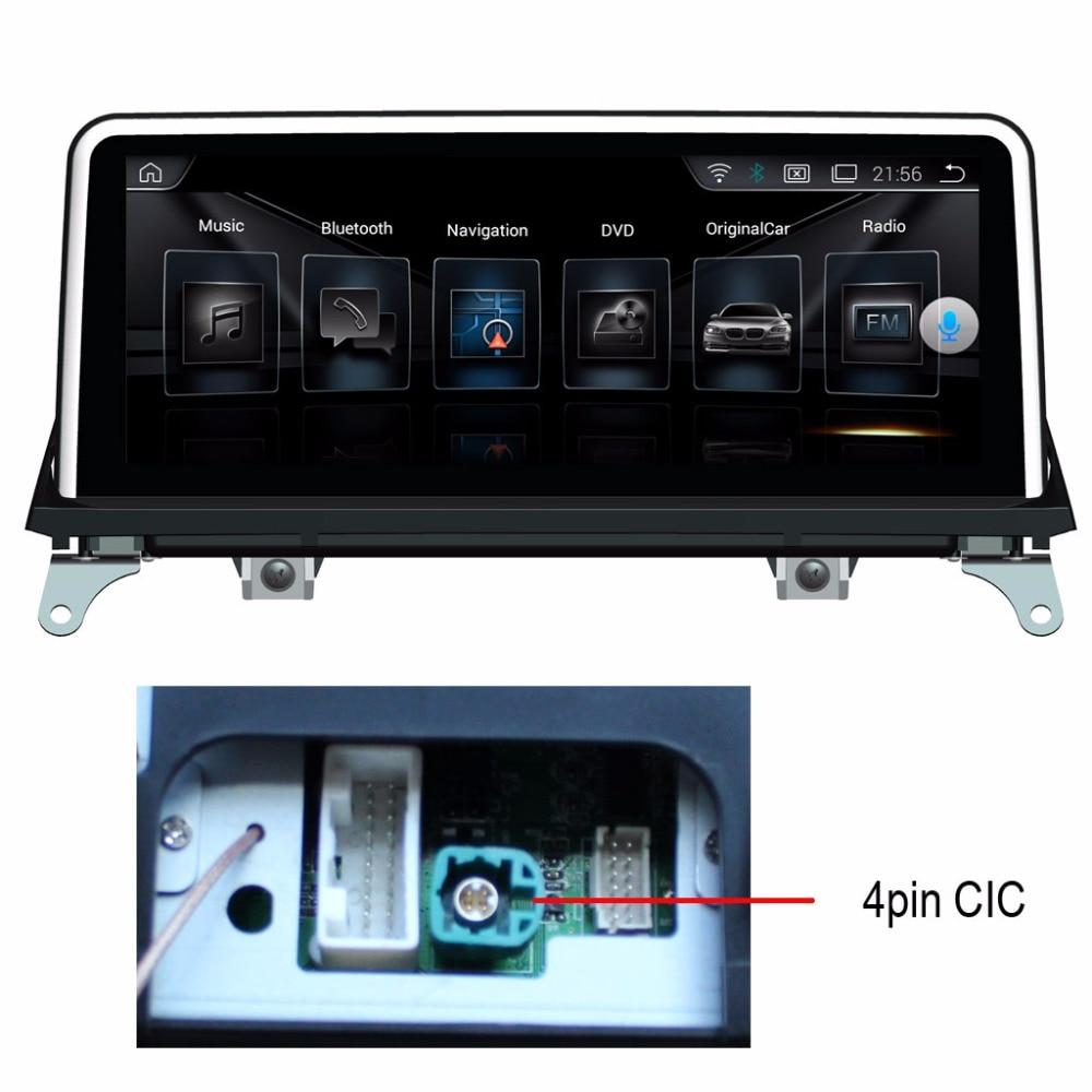 10.25 inch Android 7.1 2G+32G Car Multimedia Player for BMW X5 E70(2011-2013) X6 E71 (2011-2014) Original CIC GPS Navigation plug and play retrofit emulator for bmw cic retrofit adapter navigation emulator video in motion navi voice for x5 x6 e70 e71