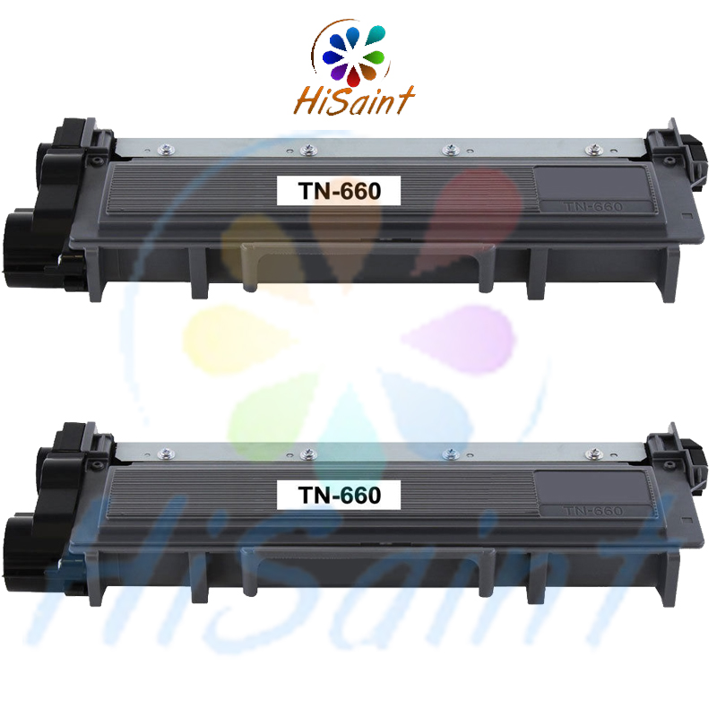 hisaint New 2PK TN660 TN630 High Yield Black Compatible for Brother Laser Toner Cartridge [Free shipping] 8 500 page high yield toner cartridge for dell b2360 b2360d b2360dn b3460dn b3465dn b3465dnf laser printer compatible 2 pack page 1