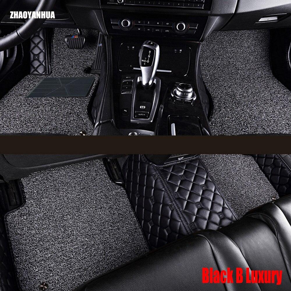 ZHAOYANHUA Voiture tapis de sol pour Honda Ville 4ème 5ème 6ème génération 5D tous les temps de voiture-style tapis tapis de plancher doublures (2003-now)