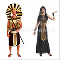 couples the prince of Egypt Egyptian pharaoh cleopatra clothes Cosplay clothing 2016 new Adult men and women costumes Halloween