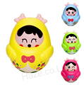 Roly Poly Toy Children Smiling Face Tumbler Plastic Toy Without Box