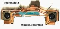 New Laptop/Notebook CPU/GPU cooling Radiator Heatsink&Fan for MSI GE63 GP63 GL63 GE63VR E322500361A N384 N417 RTX2060/2070/2080