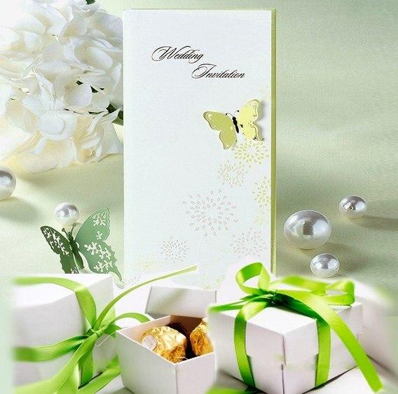 Gift Box Wedding Invitations: Aliexpress.com : Buy Save $30, Wedding Invitation Set, 100
