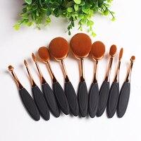 10pcs Makeup Brush Set Professional Foundation Eyeliner Powder Eyeshadow Cosmetics Make Up Beauty Essential Makeup Brushes