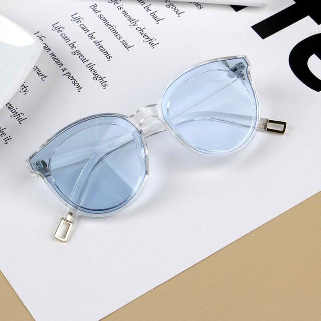New Kids Sunglasses Children Fashion Big Frame Sun Glasses Girl Boy Eyewear Travel Eye Accessory Cateye Cute uv400