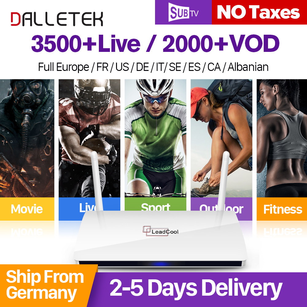 IPTV STB 1G 8G Android TV Box With HD 3500 Live Channels IPTV Account French Arabic