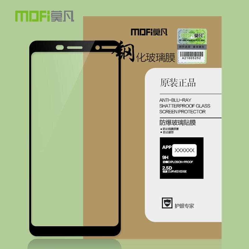 """Для microsoft Nokia Lumia 7 PLUS 6,0 """"стекло закаленное MOFi оригинальный защитная пленка полное покрытие закаленное стекло"""