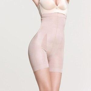 Женская корректирующая одежда, шорты с высокой талией, тренажер для талии, шейпер для тела, gaine amincissante femme butt lifter d90514|Утягивающие трусы|   | АлиЭкспресс