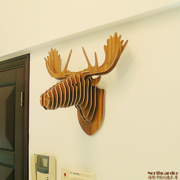 Moose Wall Decor moose head home decor - best home decor