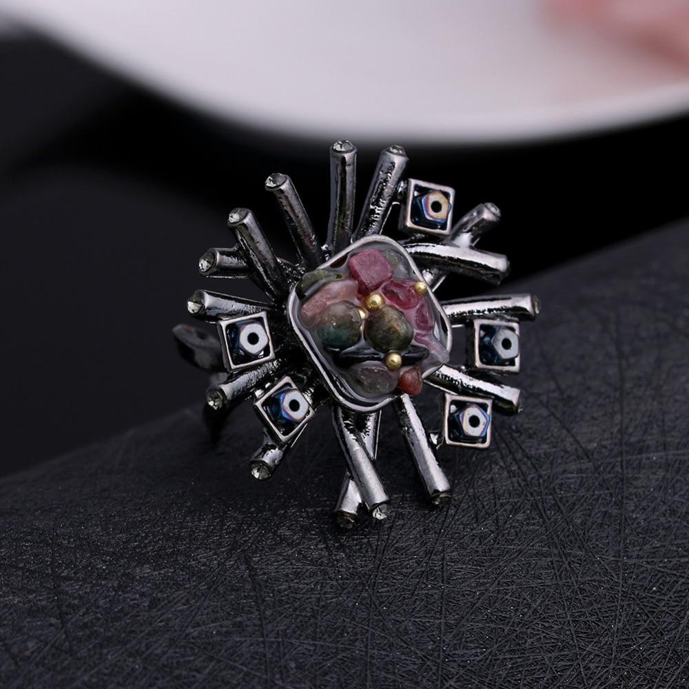 JUJIE Mode Trouwringen Kristal Steen Voor Vrouwen 2019 Sieraden - Mode-sieraden - Foto 4
