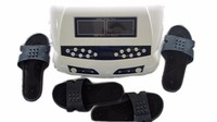 Detox Foot Spa Massage Ion Cleanse Detoxify Machine AH 805D Dual Screen Display with Two Pairs Massager Slippers free shipping