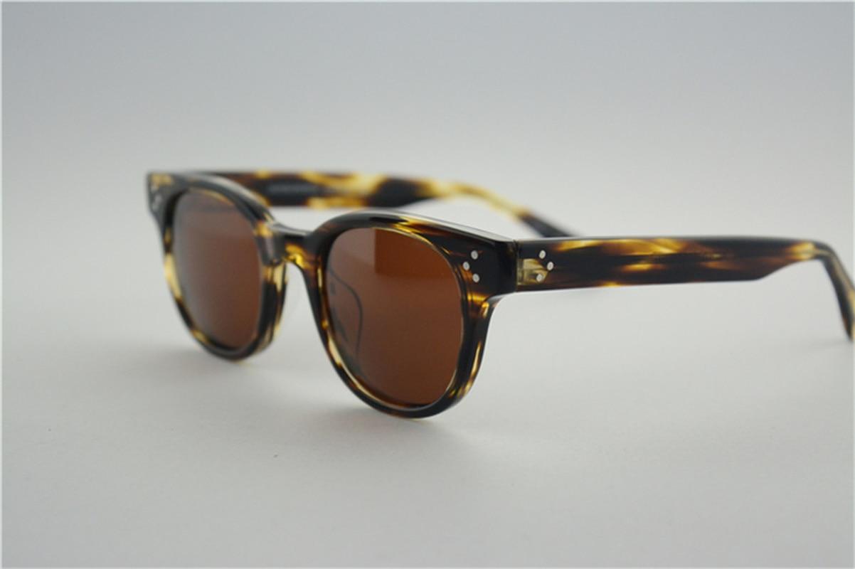 High Quality Vintage Sunglasses Men Polarized Outdoor Fishing Funny Glasses OV5236 Black Frame Sunglasses Women Oculos De Sol