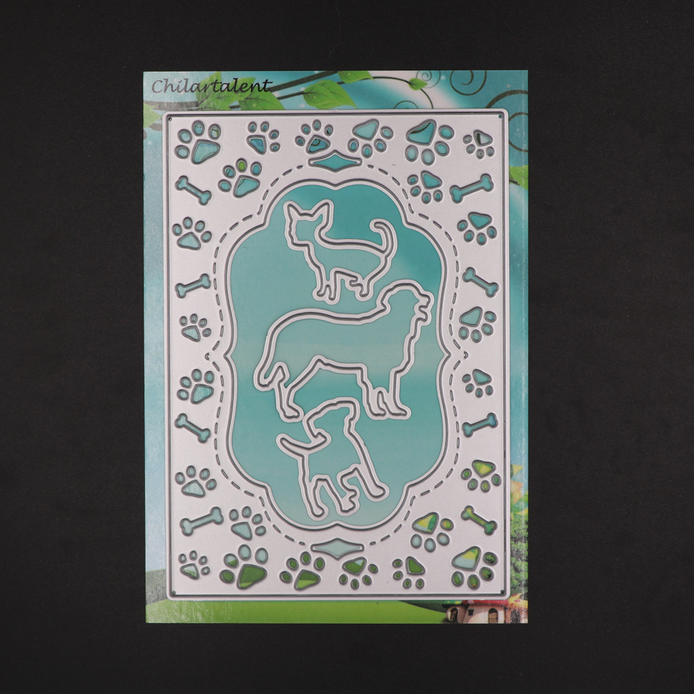 Rectangle Cutting Dies window frame Scrapbooking Metal DIY Craft Die Cut Stamps Embossing paper card making Stencil template