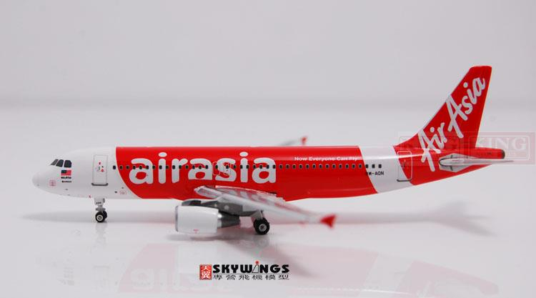 10692* Phoenix Asian aviation 9M-AQN 1:400 A320 commercial jetliners plane model hobby