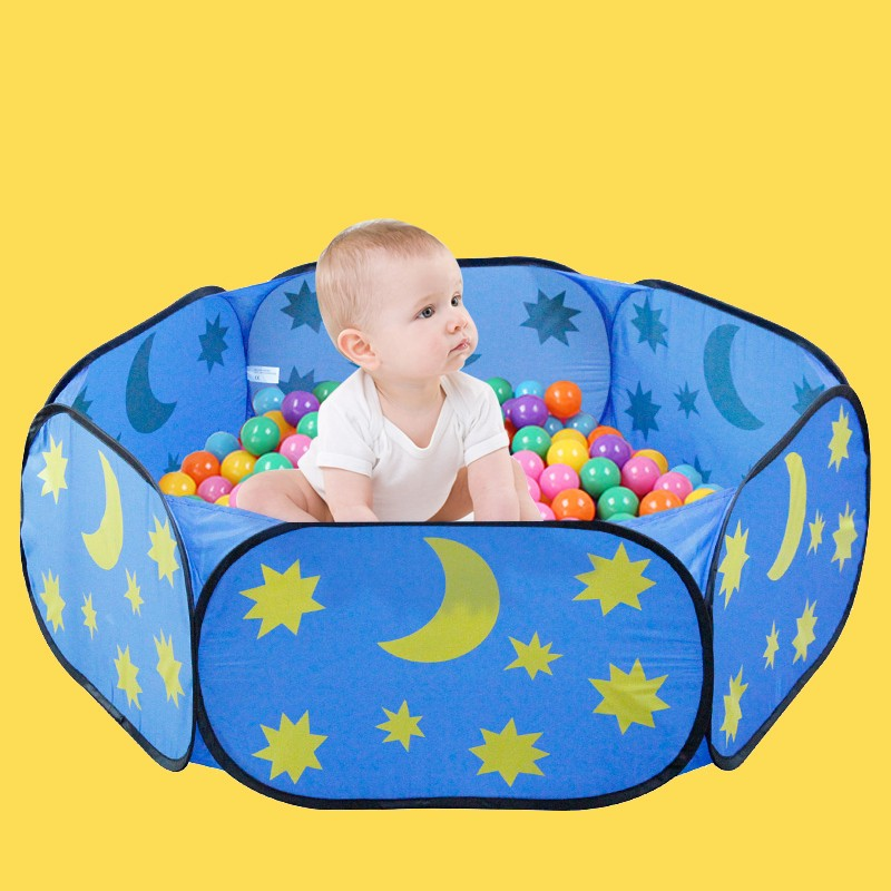 Indoor children\'s play toy tent outdoor portable blue sky ocean ball pool game pool free shipping parent-child interaction (8)
