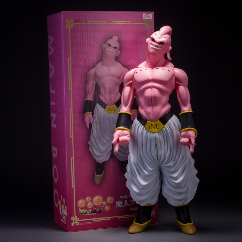 Anime Dragon Ball Z Super Big Size Majin Buu Large PVC Action Figure Collectible Model Toy 19 48CM Free Shipping q version dragon ball z majin buu figure doll action figures toys great gift