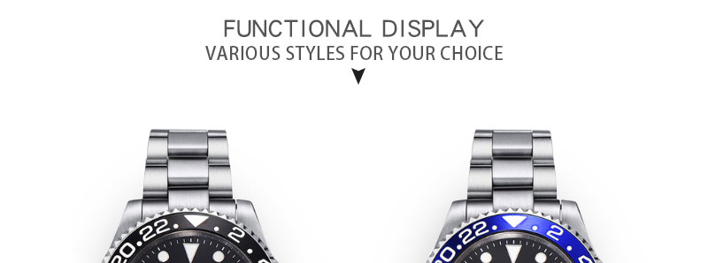 relógio masculino topo marca de luxo